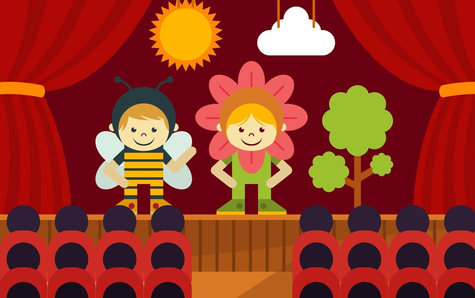 Картинки о театре детям