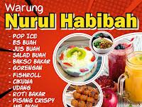 Desain Banner Warung Makanan Keren
