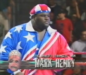 WWF / WWE IN YOUR HOUSE 10: Mind Games - Mark Henry beat Jerry 'The King' Lawler