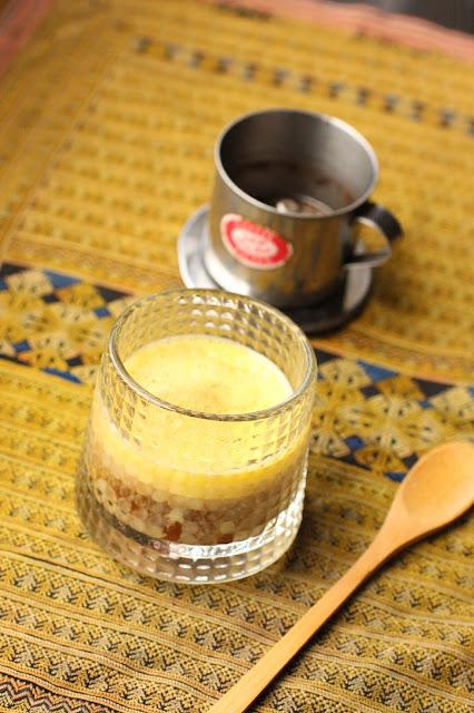 cafe a l'oeuf du vietnam