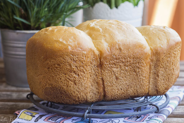 Pan de patata #panificadora #sinlactosa