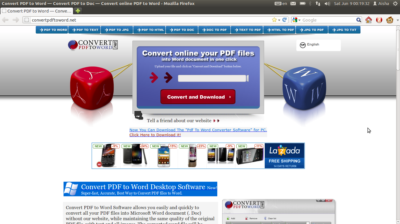 Ubuntu Digest: How to convert files from PDF to Microsoft Word, online