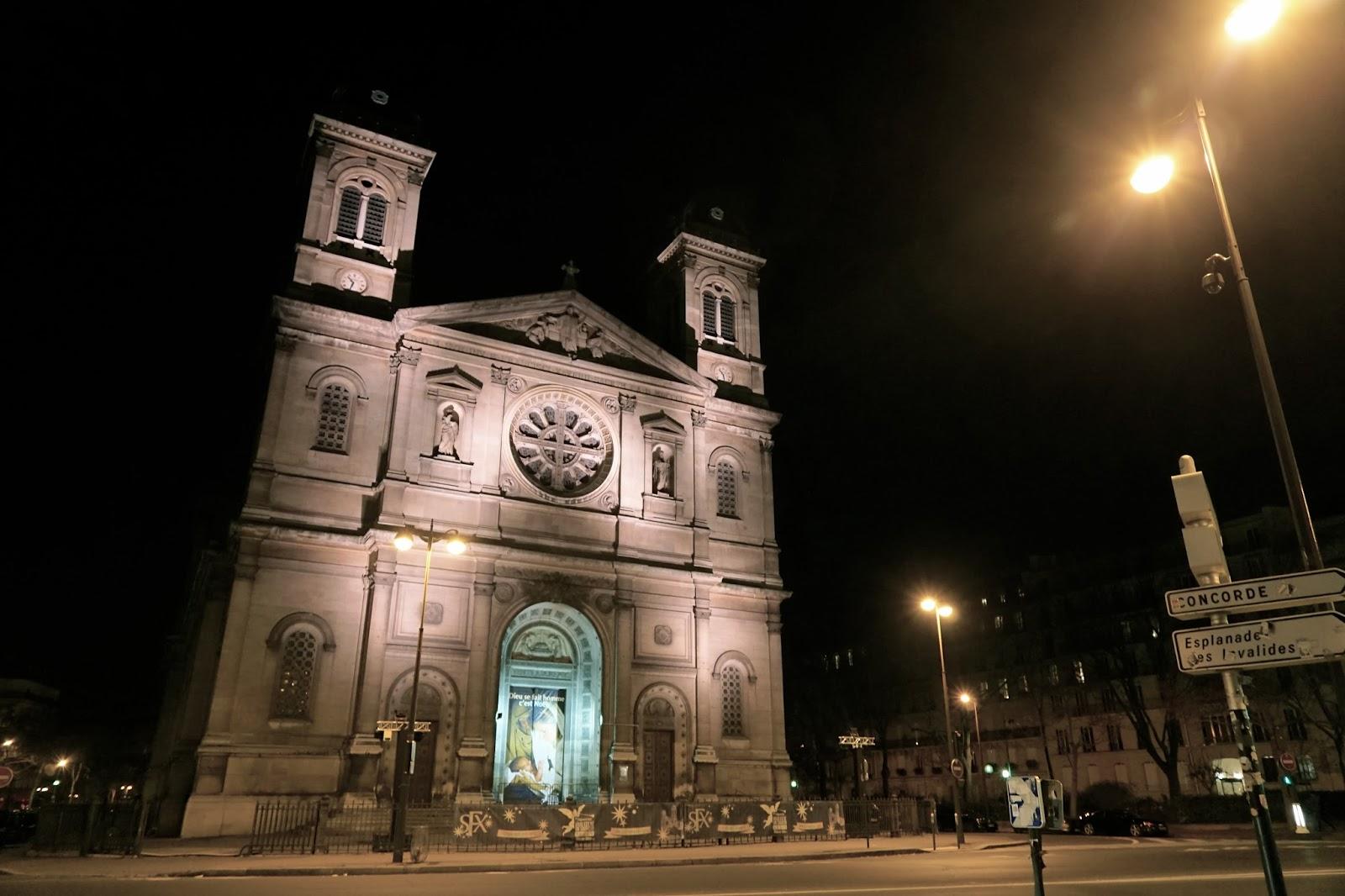 サン・フランソワ・グザヴィエ教会(Église Saint-François-Xavier de Paris)