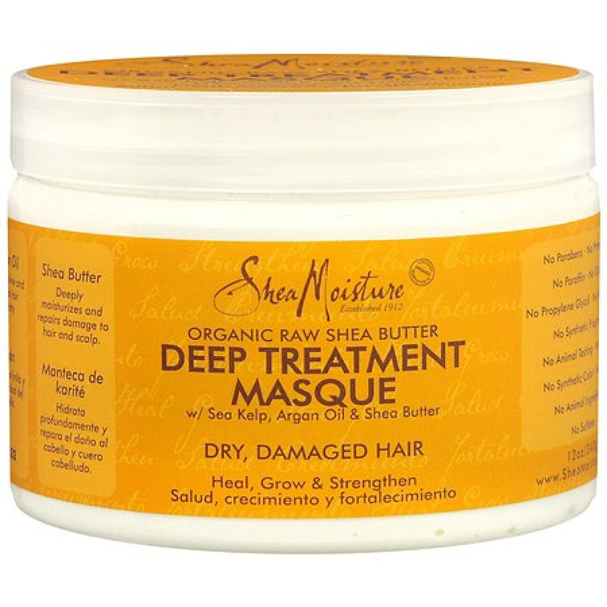 Shea Moisture Organic Shea Butter Deep Treatment Masque