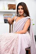 Nidhi Agarwal at Ismart Successmeet-thumbnail-17