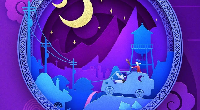 Pixar Onward Paper Cut Chinese Poster Crop