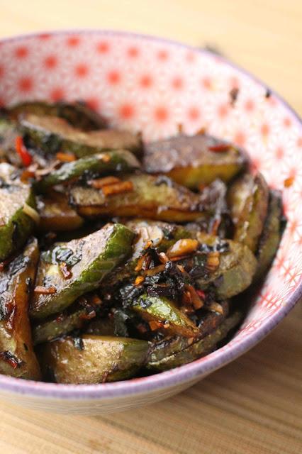 concombre cuit recette