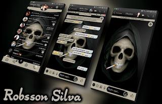 Aero Skull Theme For YOWhatsApp & Fouad WhatsApp By R̳o̳b̳s̳s̳o̳n̳