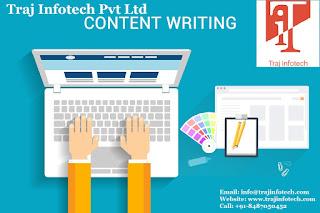 Content Writing Service - Traj Infotech