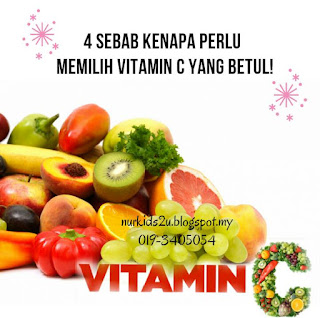 kelebihan vitamin C Shaklee