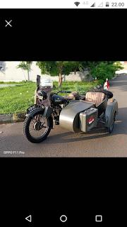FOR SALE....  BSA M20 sidecar....bersurat plat B Jakarta