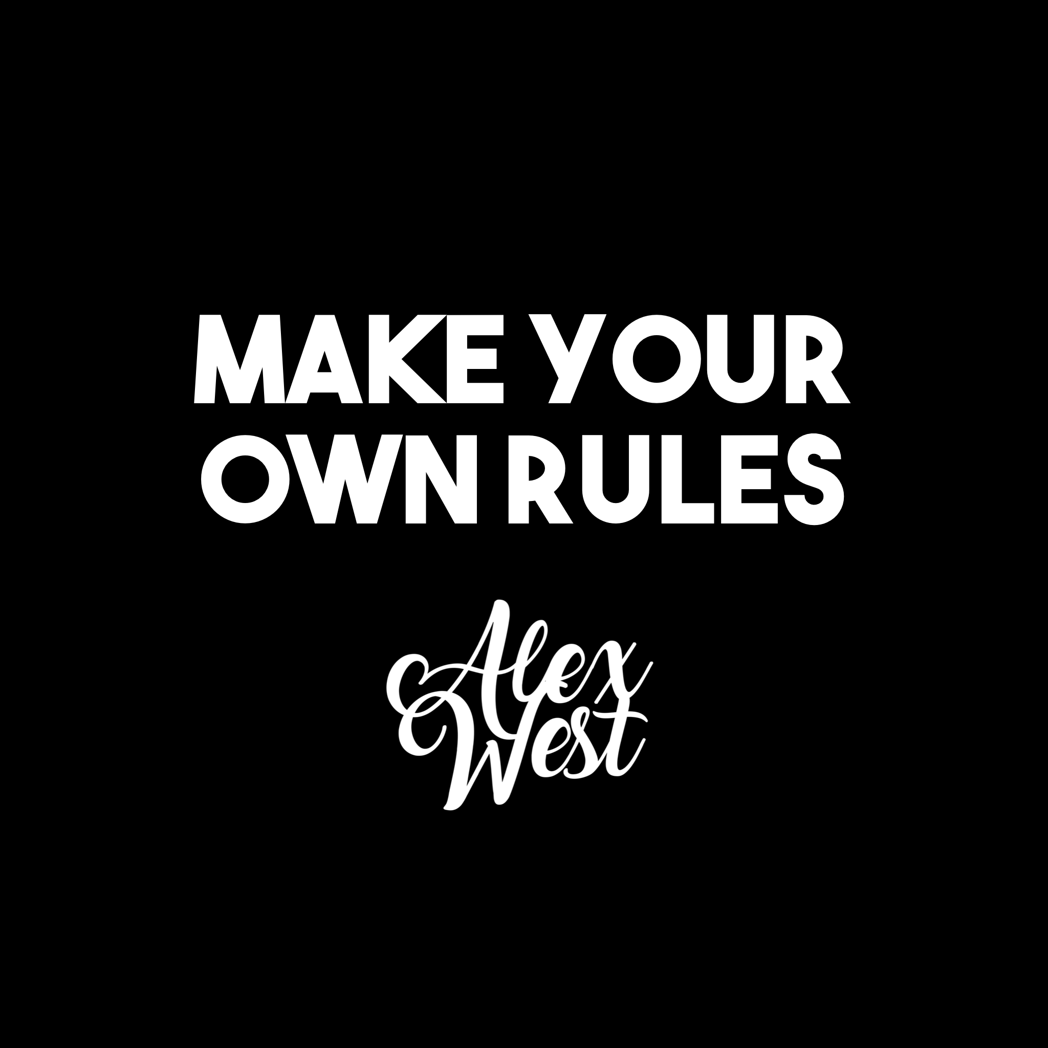 MAKE YOUR OWN RULES motivation quotes success inspiration gym fitness nike clothes fashion luxury success