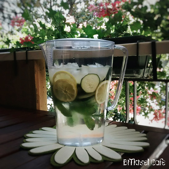 Lemon, Ginger and Mint Water