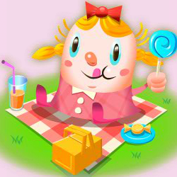capture d'écran du jeu Candy Crush Saga