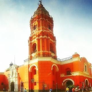 Iglesia de Santo Domingo, em Lima