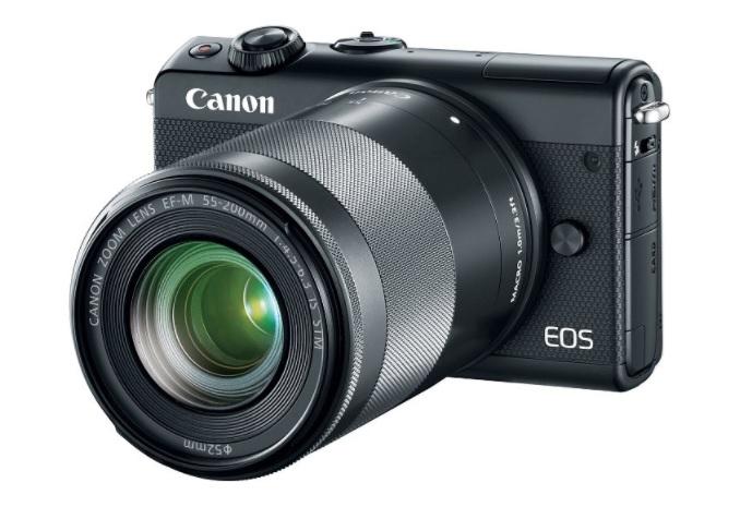 Kamera Canon Mirorrless EOS M100 Hitam