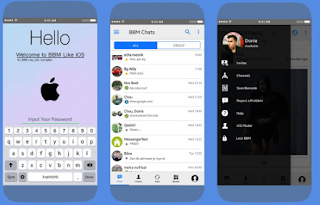 BBM Mod Like iOS V3.3.1.21 Leak Version Apk