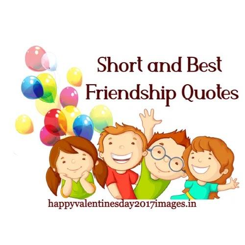 Short Best Friendship Quotes