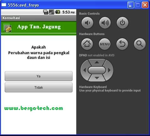 Contoh Membuat Aplikasi Sistem Pakar Sederhana Berbasis