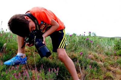 Pequeño fotografo de 9 años gana premio de foto de vida salvaje.