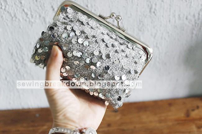 75b0d14e68a50 سيتم خياطة وتفصيل حقيبة يد صغيرة بالصور خطوة بخطوة وبطريقة سهلة وبسيطة