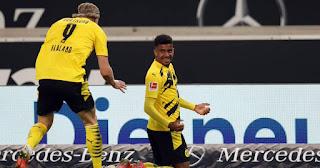 ملخص واهداف مباراة بوروسيا دورتموند وشتوتجارت (3-2) الدوري الالماني