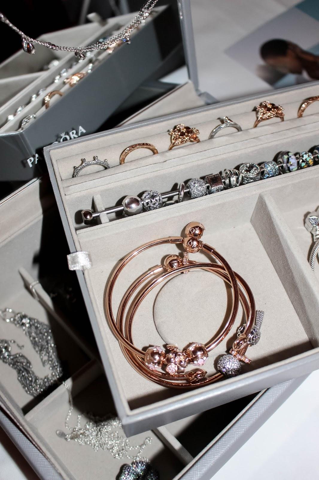 Jewellery Box Filled With Pandora Jewellery