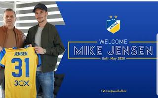 ΑΠΟΕΛ: συμφωνία με Mike Jensen