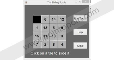 Puzzle pada MATLAB