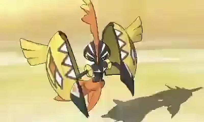 Ya puedes descargar Tapu Koko shiny en Pokémon Sol y Pokémon Luna