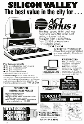 ACT Sirus 1 advertisement