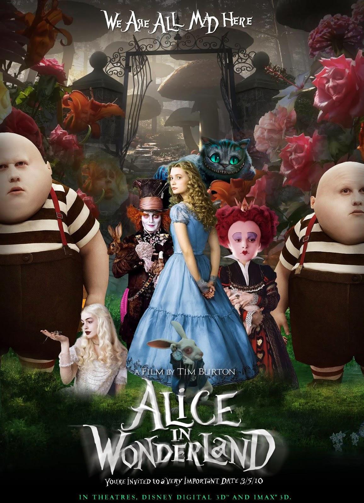 Alice in Wonderland อลิซในแดนมหัศจรรย์ [HD][พากย์ไทย]