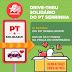 PT de Serrinha realiza drive-thru solidário para arrecadar alimentos e materiais de higiene no dia do trabalhador