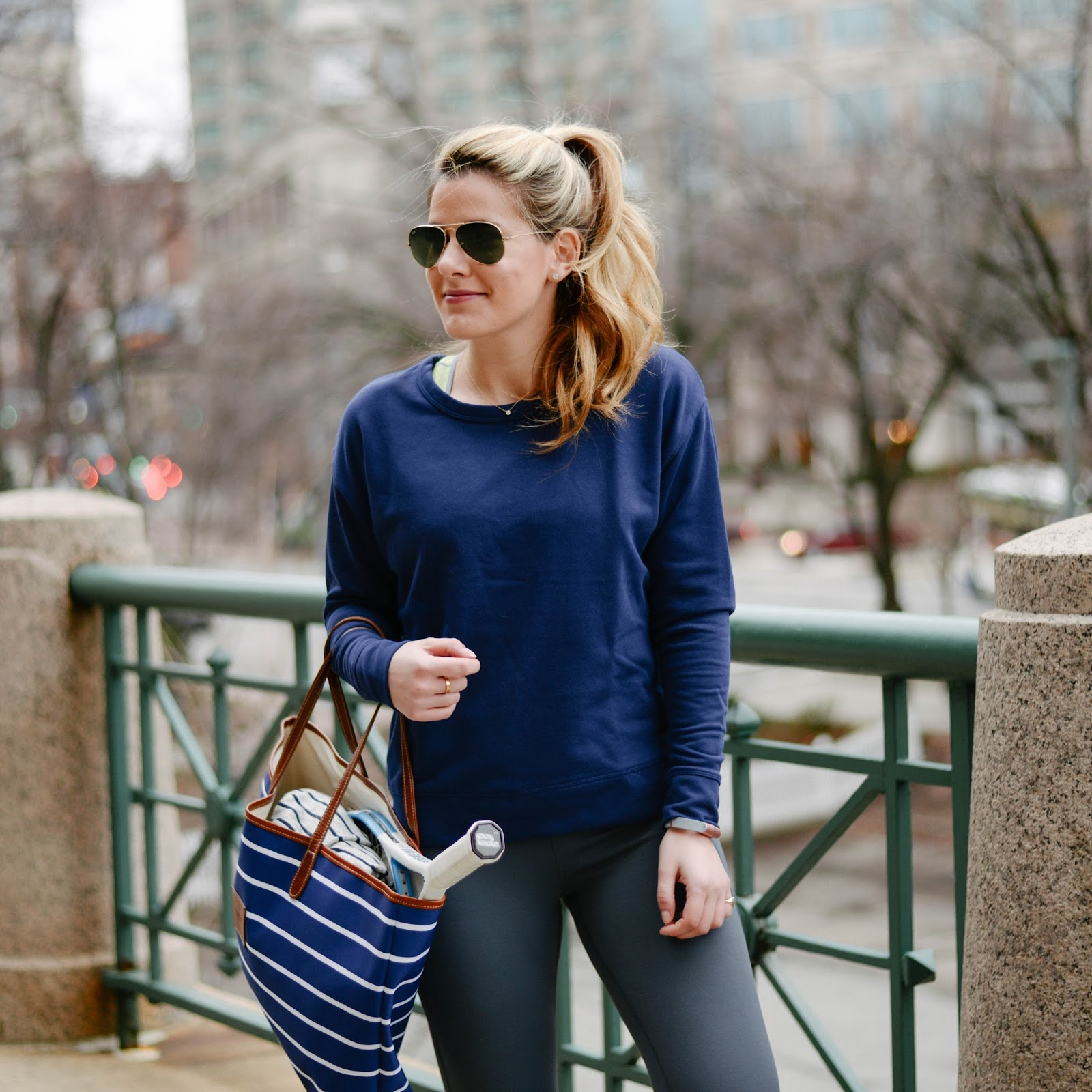 Summer Wind: Athleisure Outfit Inspo + Workout Playlist