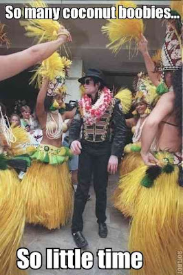 Michael Jackson Coconut Boobies Meme