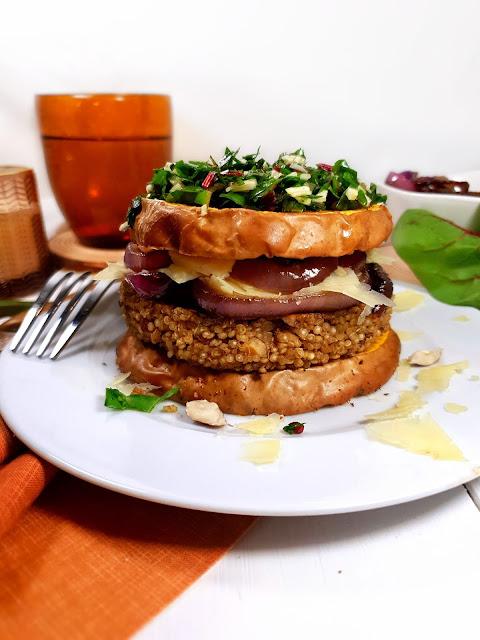 BURGER BUTTERNUT & GALETTE QUINOA/NOISETTES - sans gluten