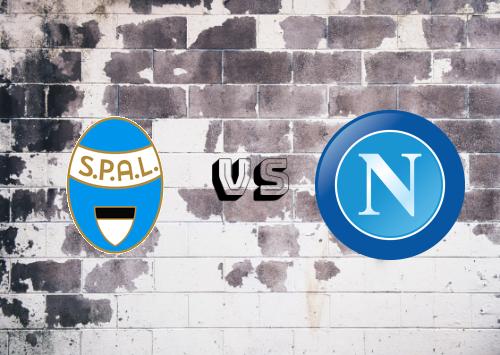 SPAL vs Napoli  Resumen y Partido Completo