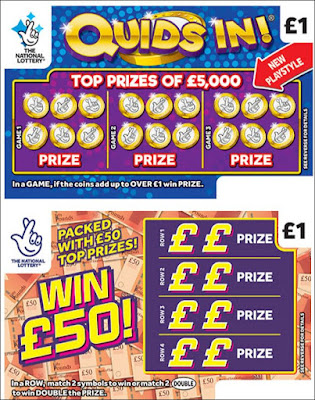 National Lottery Quids In and Win £50