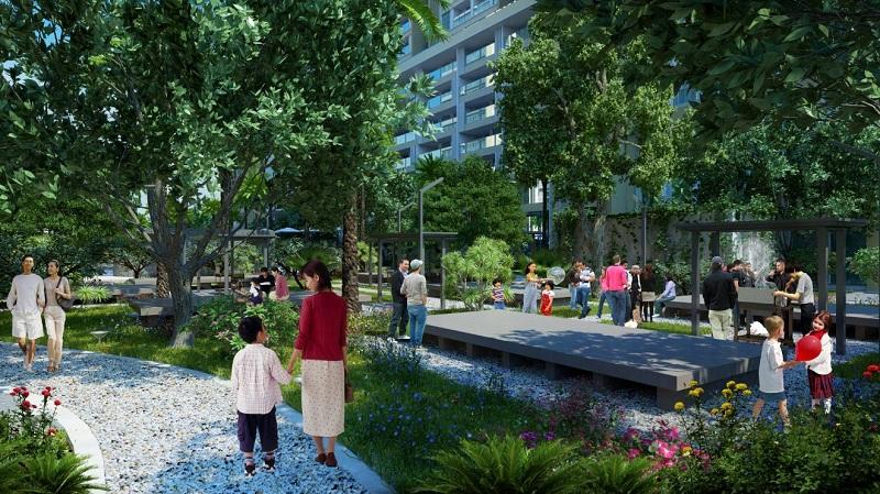 Tiện ích sống chung cư The K Park Văn Phú Hà Đông