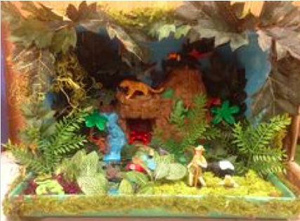 Mrs Hudsons 2nd Grade Classroom Blog Diorama Examples