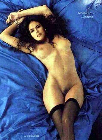 maria grazia cucinotta topless