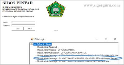 Cara Menggunakan Aplikasi SIBOS PINTAR 2018 Madrasah Kemenag PDF