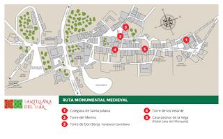 Ruta Medieval de Santillana del Mar.