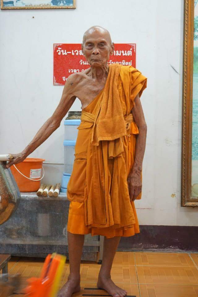 This Buddhist Monk 'standing And Smiling' Two Months After His Death!