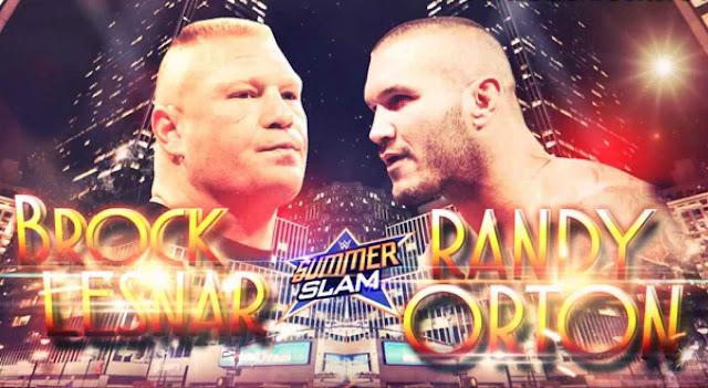 Brock Lesnar Vs Randy Orton, SummerSlam 2016, SummerSlam 2016 Matches, SummerSlam 2016 News, WWE SummerSlam 2016, WWE Summerslam Matches, WWE SummerSlam News,
