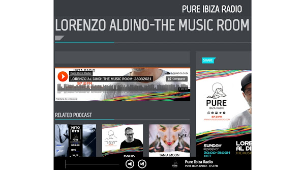 Lorenzo al Dino - The Music Room at Pure Ibiza Radio