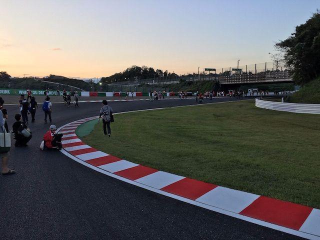 F1日本グランプリ2017 西コーストラックウォーク 逆バンク