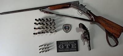Preso acusado de matar o próprio irmão a tiros na cidade de Paulista, interior da Paraíba