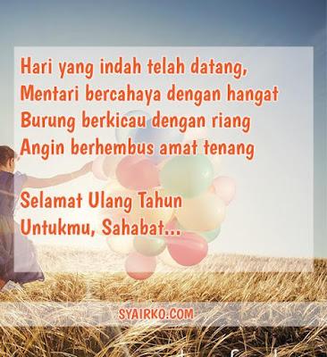 ucapan selamat ulang tahun untuk sahabat, anak, suami, istri, islami, bahasa inggris.