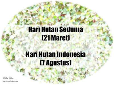 hari hutan indonesia
